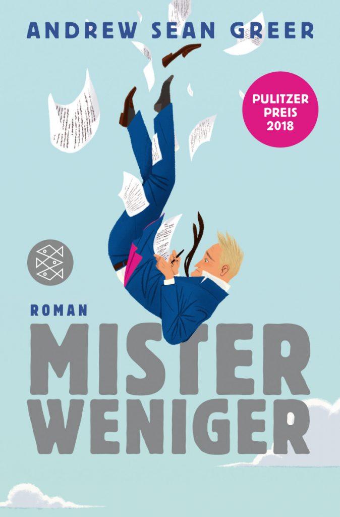 Buchcover Mister Weniger von Andrew Sean Greer
