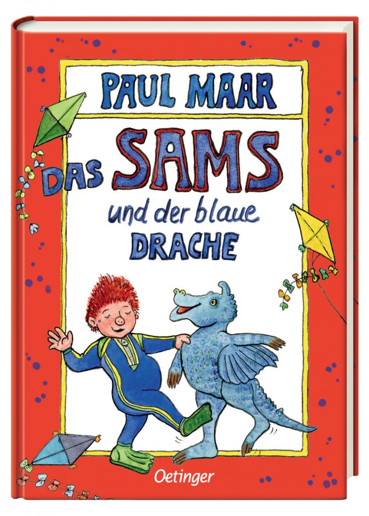 Buchcover von Das Sams und der blaue Drache